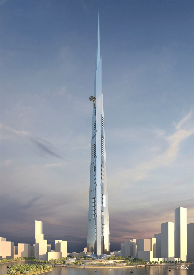 The-Kingdom-Tower Adrian-Smith Gordon-Gill-Architecture- dezeen 1