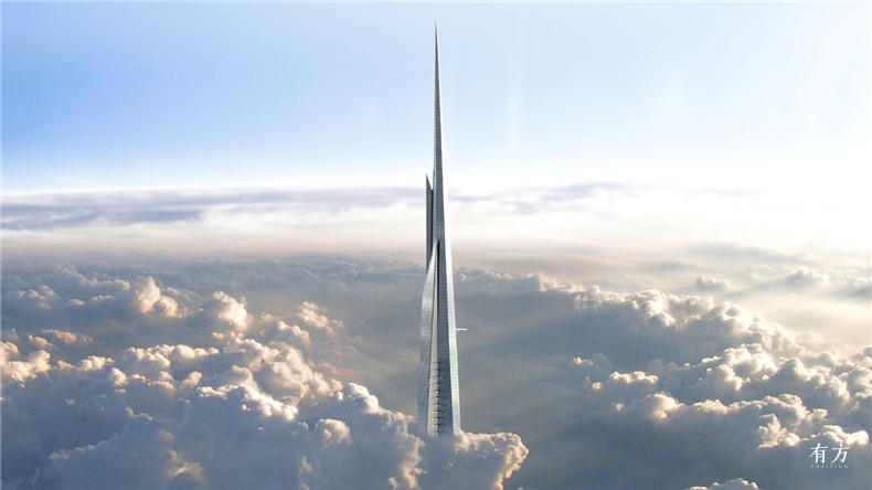 The-Kingdom-Tower Adrian-Smith Gordon-Gill-Architecture- dezeen social