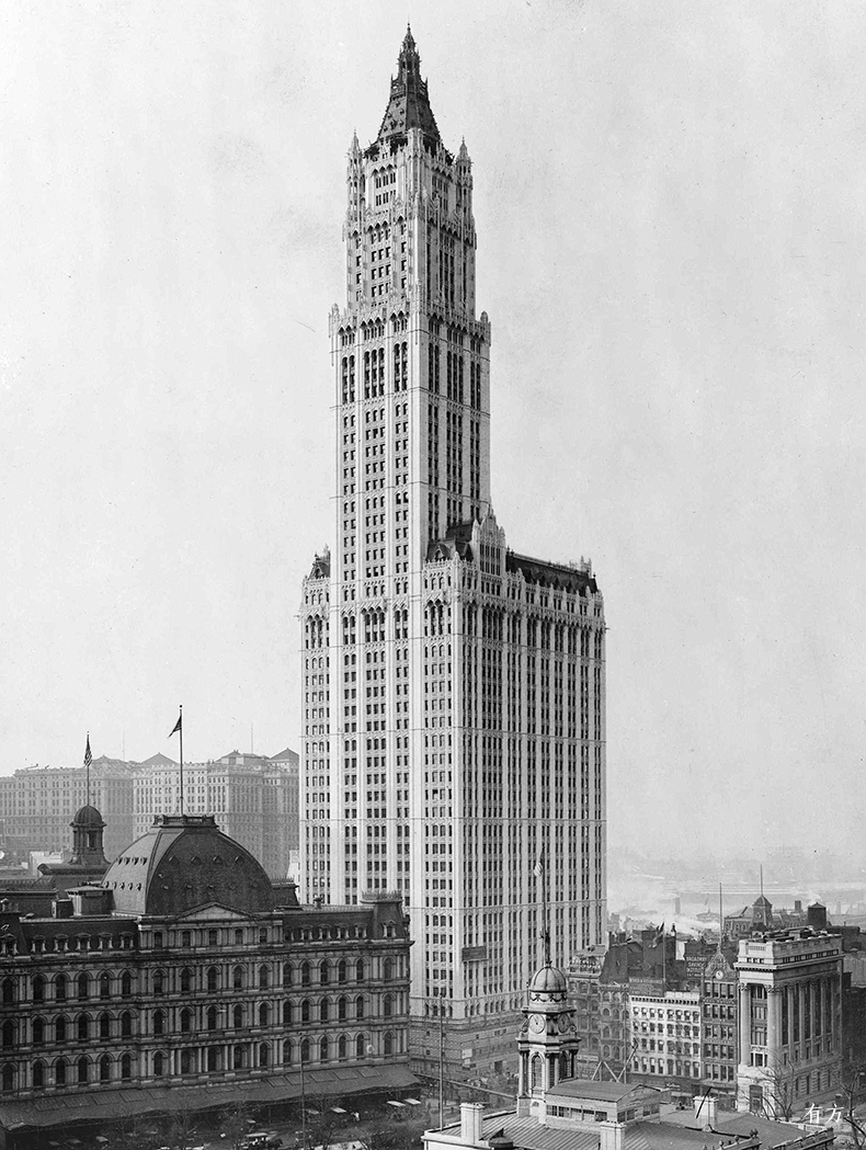View of Woolworth Building fixed crop