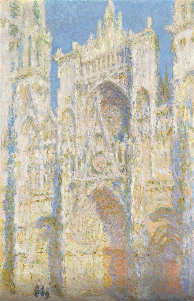 1894The Portal of Rouen Cathedral in Morning Light鲁昂