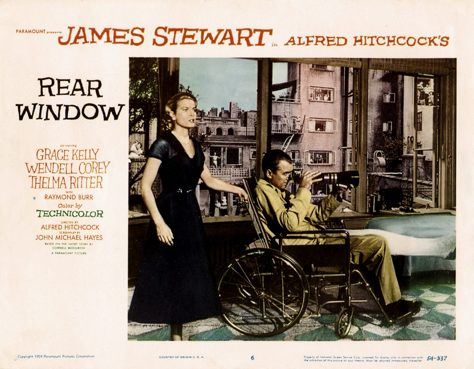 Poster Rear Window 11