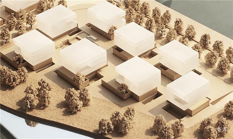 上海张江中区办公园1-模型