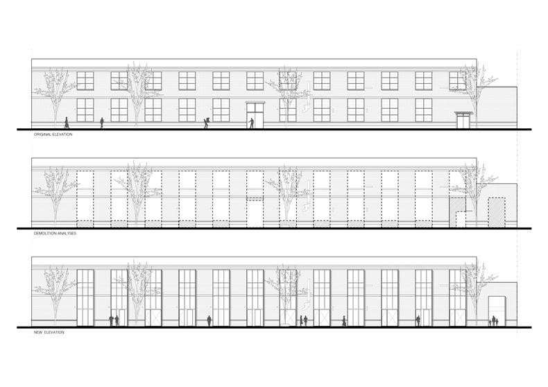 Superimpose Factory Re-veil 007 External Elevations