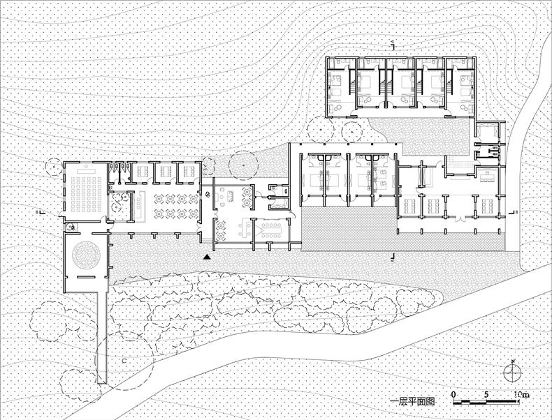 平面 Ground Floor Plan