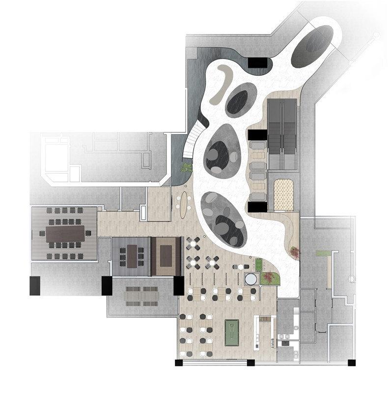 U-CUBE-上海共享办公空间-有方空间21