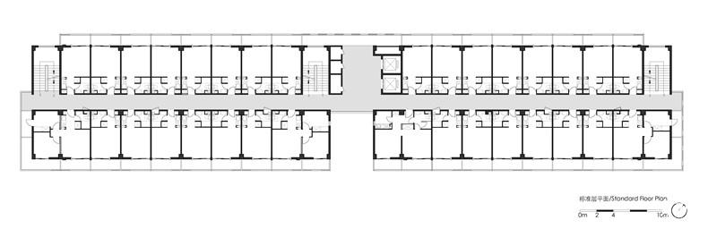 公寓标准层平面1