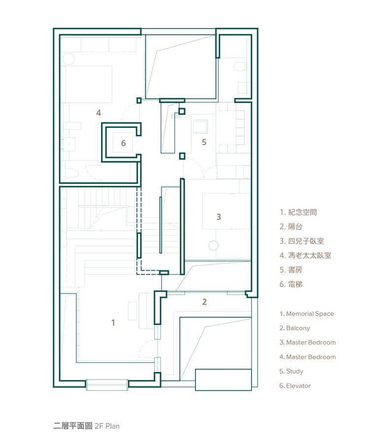 41-2 平面图 2F
