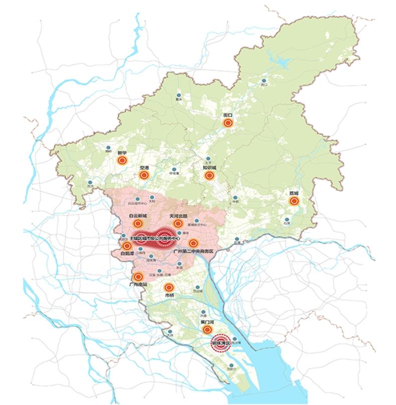 广州城市总体规划01