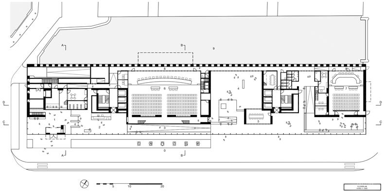 03荷兰高等法院一层平面图