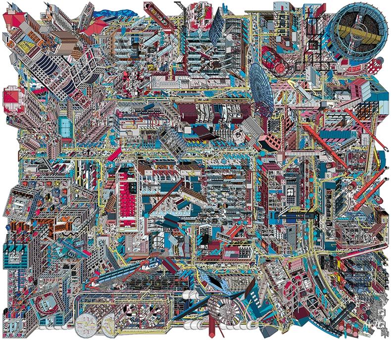 李涵798艺术微喷540 470 cm2017