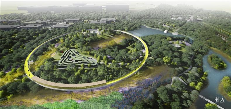 众创建筑设计工作室6 福建三明龙湖公园景观规划