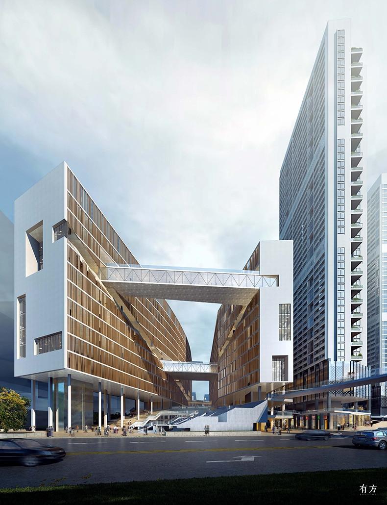 朱涛工作室10 深圳留仙洞总部基地1街坊二标段