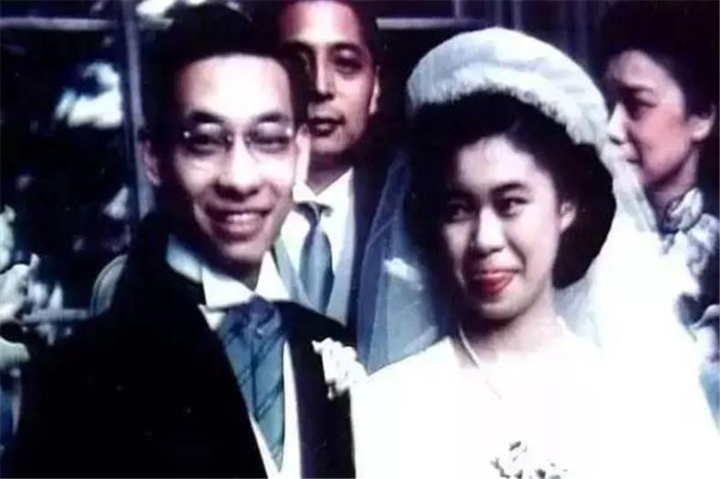 100张照片回顾贝聿铭的100岁人生06 贝聿铭与陆书华的结婚照