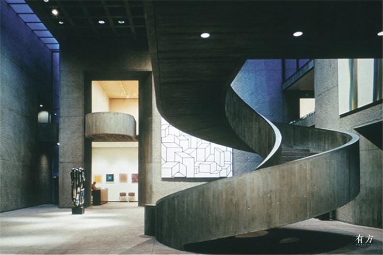 100张照片回顾贝聿铭的100岁人生16 美国纽约州雪城埃弗森艺术馆1968年
