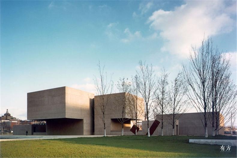 100张照片回顾贝聿铭的100岁人生17 美国纽约州雪城埃弗森艺术馆1968年