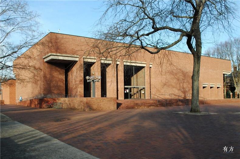 100张照片回顾贝聿铭的100岁人生18 克莱奥罗杰斯纪念图书馆1969年