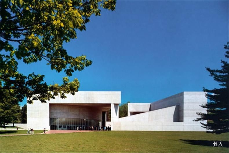 100张照片回顾贝聿铭的100岁人生20 保罗梅隆艺术中心1972年
