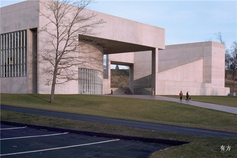 100张照片回顾贝聿铭的100岁人生21 保罗梅隆艺术中心1972年