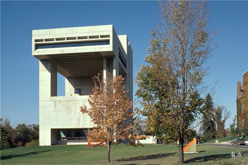 100张照片回顾贝聿铭的100岁人生24 康奈尔大学约翰逊艺术馆1973年