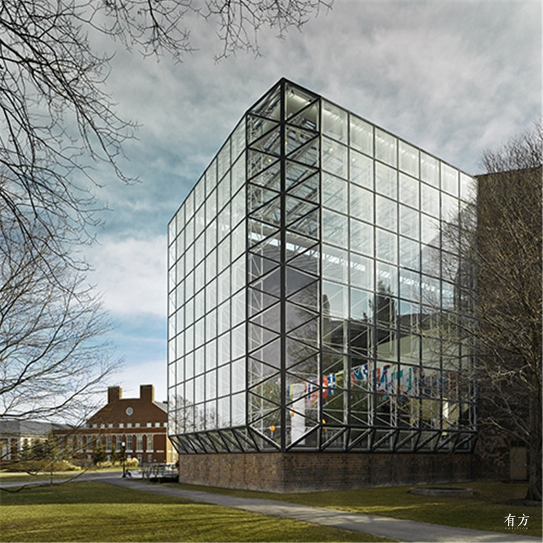 100张照片回顾贝聿铭的100岁人生27 罗彻斯特大学Wilson Commons学生活动中心1976年