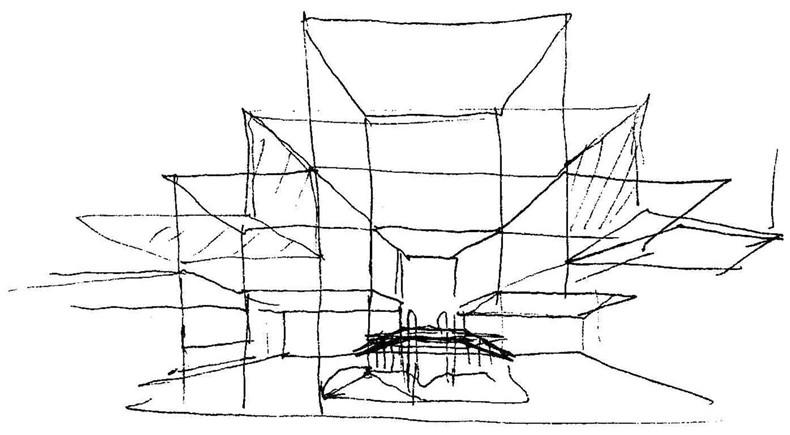 100张照片回顾贝聿铭的100岁人生40纽约市贾维茨会展中心1979年