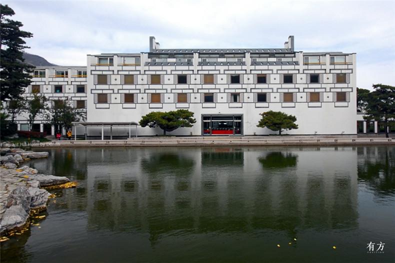 100张照片回顾贝聿铭的100岁人生44 香山饭店1982年