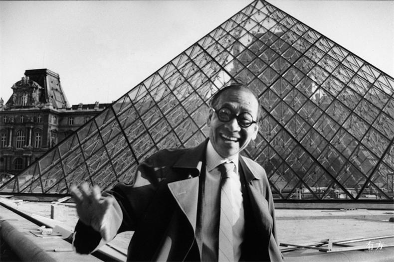 100张照片回顾贝聿铭的100岁人生57 贝聿铭与卢浮宫
