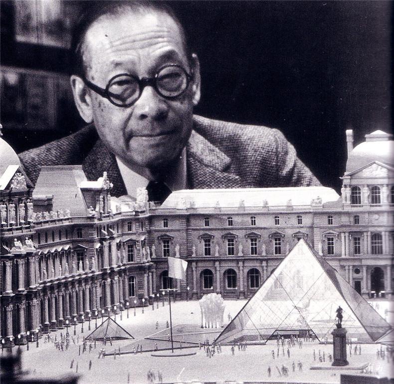 100张照片回顾贝聿铭的100岁人生58 贝聿铭与卢浮宫
