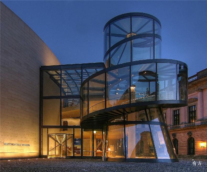 100张照片回顾贝聿铭的100岁人生60 德国历史博物馆新翼1990年
