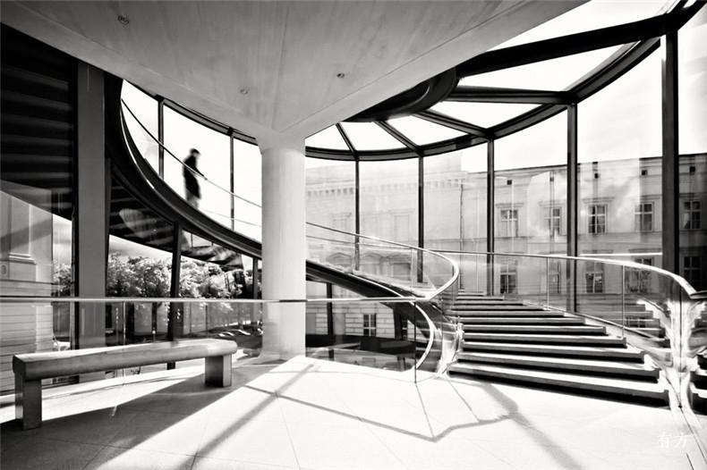 100张照片回顾贝聿铭的100岁人生61 德国历史博物馆新翼1990年