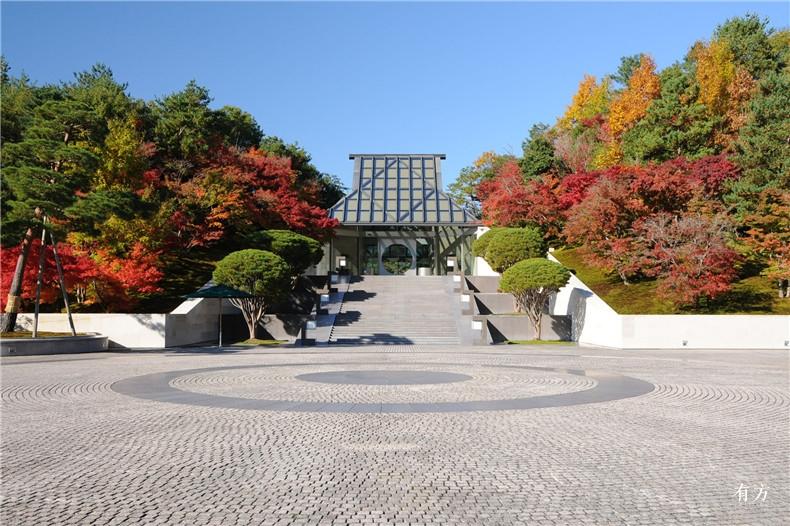 100张照片回顾贝聿铭的100岁人生67 日本美秀博物馆1996-1997年