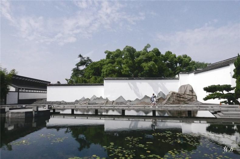 100张照片回顾贝聿铭的100岁人生70 苏州博物馆2002年