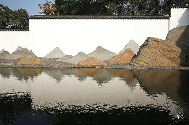 100张照片回顾贝聿铭的100岁人生73 苏州博物馆2002年