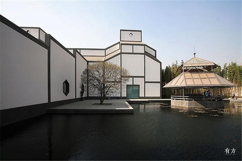 100张照片回顾贝聿铭的100岁人生74 苏州博物馆2002年