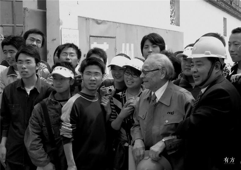 100张照片回顾贝聿铭的100岁人生75 贝聿铭在苏州