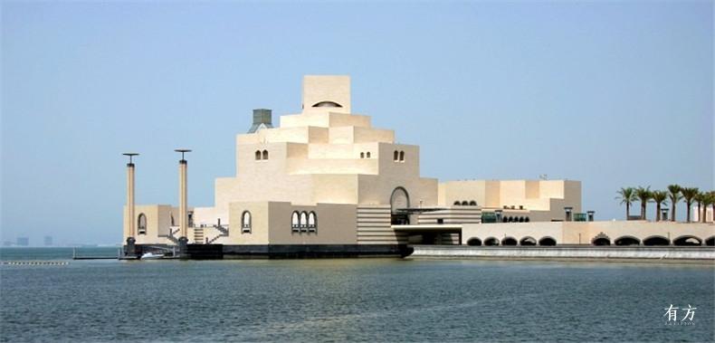 100张照片回顾贝聿铭的100岁人生81 伊斯兰艺术博物馆2006年
