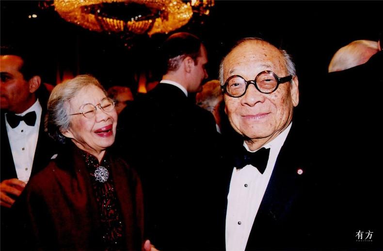 100张照片回顾贝聿铭的100岁人生90 贝聿铭与妻子陆书华
