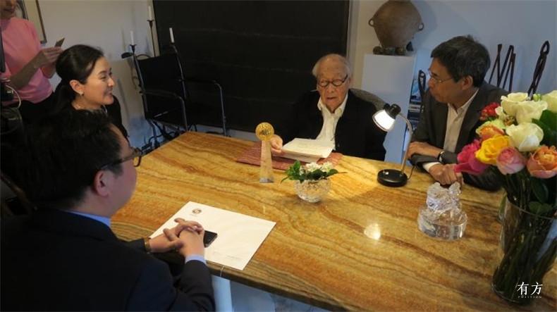 100张照片回顾贝聿铭的100岁人生94 今年3月26日华人盛典组委会公布贝聿铭获得2016-2017年度影响世界华人终身成就奖
