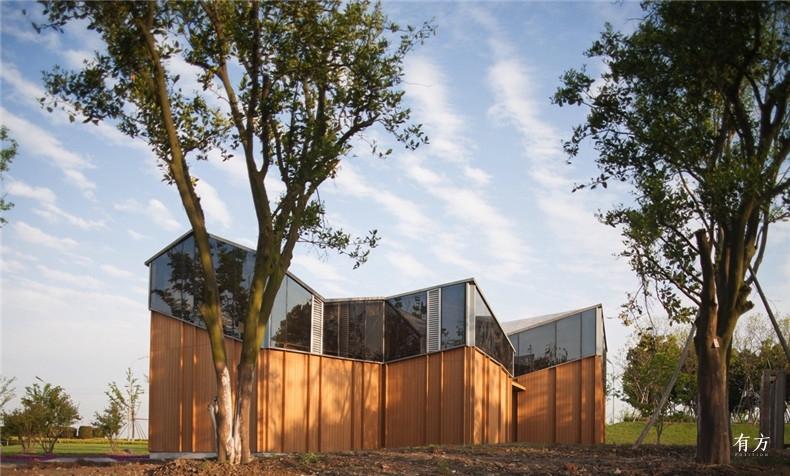 集合设计作品04 杭州湾新区中心湖公园配套建筑