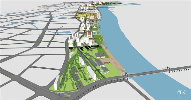集合设计作品08 宁波文创港城市设计