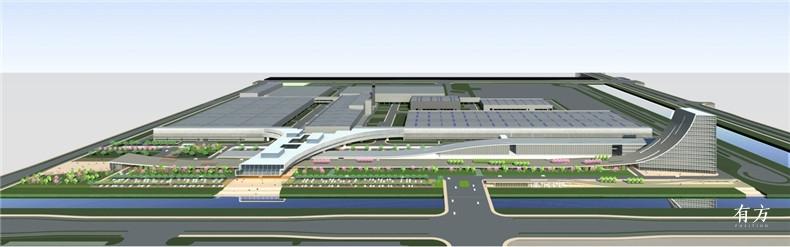 集合设计作品10 智能汽车工厂与办公展示中心