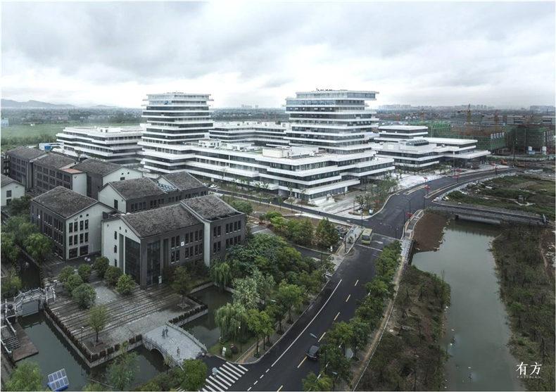 杭州师范大学仓前校区核心区综合体-wsp-youfang