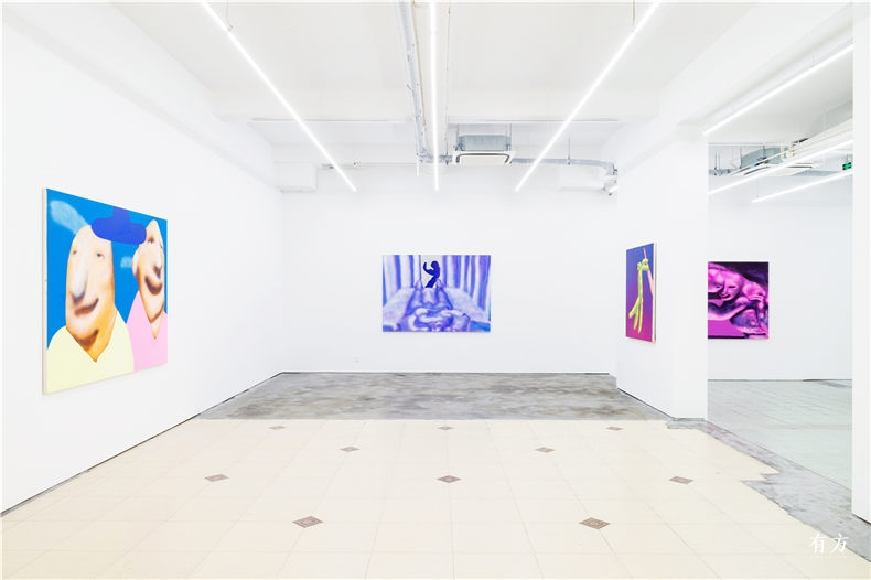 AUSTIN LEE Light Paintings 2016 installation view by Alex Wang 01 Copy 副本