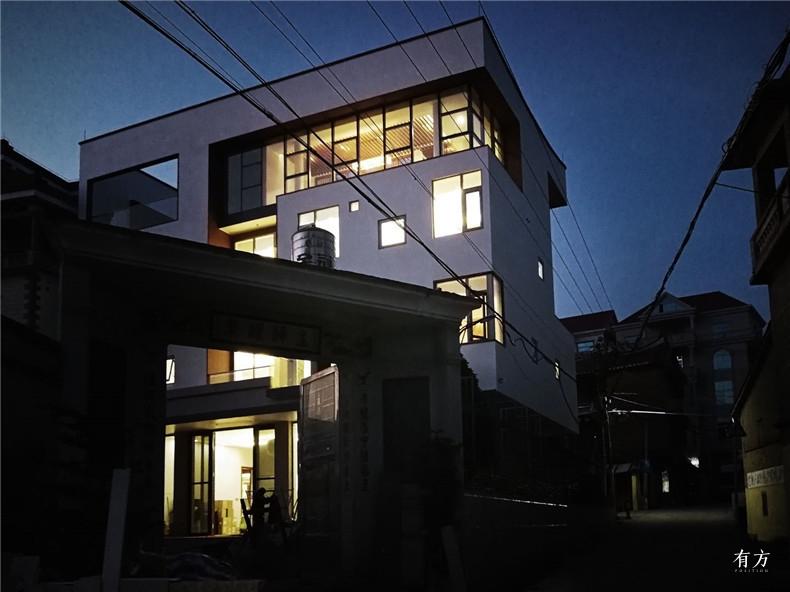 1.莆田民居建筑室内即将完工