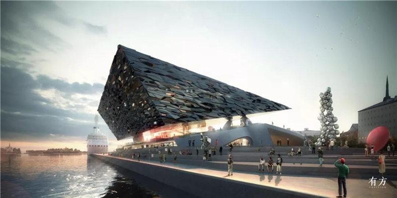赫尔辛基古根海姆美术馆建筑竞赛4