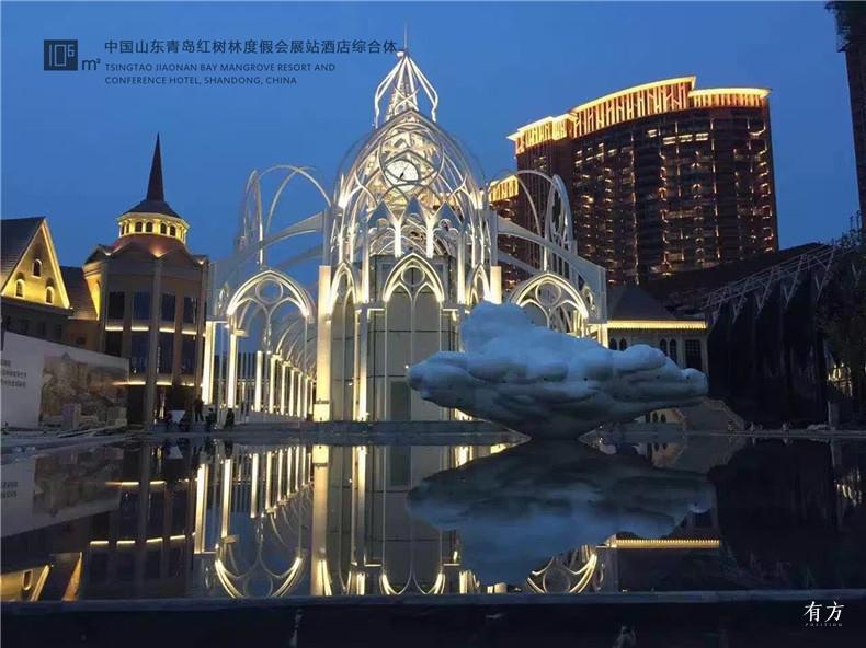 6.中国山东青岛红树林度假会展酒店综合体