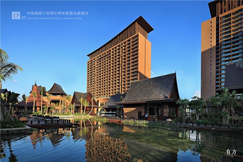 7.中国海南三亚湾红树林度假会展酒店