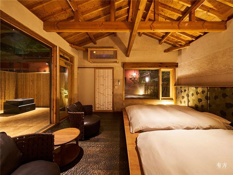 7 竹笛 竹林上的旅馆 日本九州