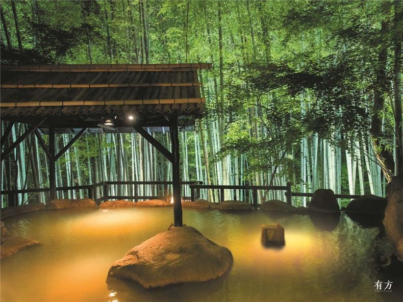 8 竹笛 竹林上的旅馆 日本九州