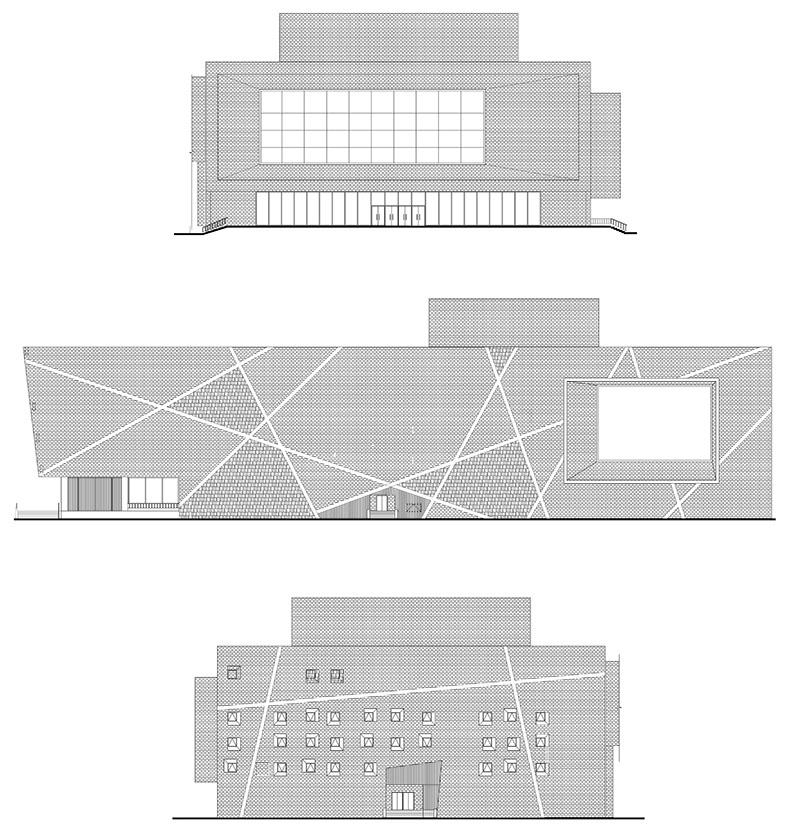 00-清华院渭南文化艺术中心-大剧场立面图